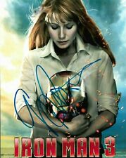 "GWYNETH PALTROW ""Iron Man 3"" Autographed 8 x 10 Signed Photo HOLO COA"