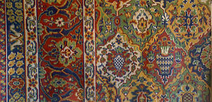 Beautiful 19th Cent. French Kilim Painting for Carpet Development 5003