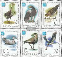 Sowjet-Union 5181-5186 (kompl.Ausgabe) gestempelt 1982 Vögel