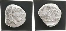 Athens Greek Tetradrachm with Owl - Alter Style after 400 Almost XF 17,03 G