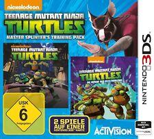 Teenage Mutant Ninja Turtles - Maître éclats de bois Formation Paquet 3DS