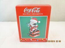 Enesco Coca Cola Holiday Ornament 1997