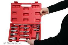 """11 Pc 3/8 """" Master Spark Glow Plug Socket Set Gasolina Diesel eliminación instalar Herramienta"""