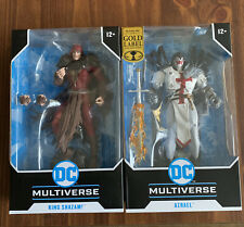 """BRAND NEW 2021 DC Multiverse 7"""" McFarlane KING SHAZAM The Infected And Azrael!"""