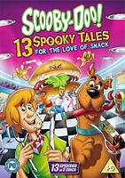 Scooby-Doo: 13 Spooky Tales - For The Love Of Snack [DVD] [2017][Region 2]