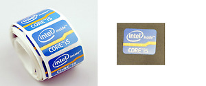 5 Intel Inside CORE i5 Sticker 15.5mm x 21mm Label Case Badge Logo. USA Seller!