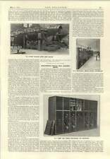 1915 High Tension Switchgear Arrangements