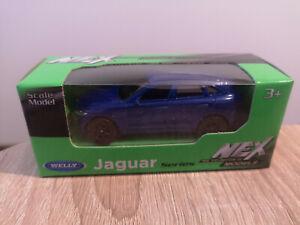 Welly NEX Jaguar F-Pace, Blue, No. 52355 - 1:64 1/64 1:60 1/60