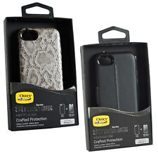 Genuine OtterBox Strada Premium Snap On Case + Alpha Glass For iPhone 7/8
