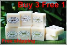 Buy 3 Free 1 100% pure rice milk soap to reduce blemish face,scented rice milk s