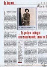 Coupure de presse Clipping 2002 Beate Klarsfeld   (1 page)