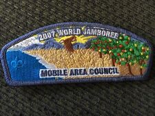 Mint 2007 World Jamboree JSP Mobile Area Council Blue Border