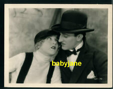 BASIL RATHBONE MAE MURRAY VINTAGE 8X10 PHOTO 1925 THE MASKED BRIDE