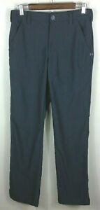 Men's Under Armour Gray Check Flat Front Golf Pants Size 30 X 34