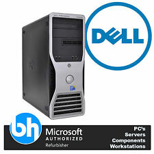 Dell T5500 Six Core 48GB RAM E5645 2,40 ghz 1TB SATA GDDR3 Gráficas Windows 10