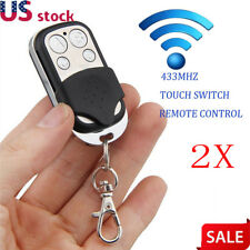 2X 433Mhz Universal Garage Door Gate Duplicator Clone Remote Control key