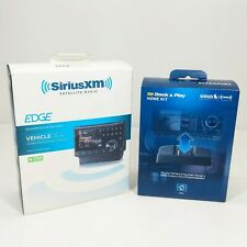 SIRIUS XM PORTABLE SATELLITE  SX1EV1 RADIO w/ Vehicle Kit and XADH1 Home KIT