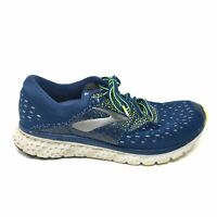Men's Brooks Glycerin 16 Running Shoes Sneaker Size 11.5 D Blue Silver Green AJ6