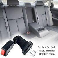 25cm/9.84inch Car Seat Seatbelt Safety Belt Extender Extension 2.1CM Buckle