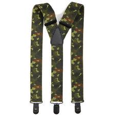 Hosenträger mit 3 Clips Y-Form 120 cm BW Bundeswehr Army Suspenders tarn camo