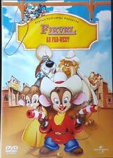 DVD du dessin animé FIEVEL AU FAR-WEST par Steven Spielberg