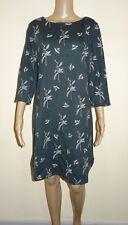 Women's White Stuff Spring/summer Dress Forst Green UK Size 14 Vr79 014