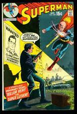 SUPERMAN #230  7.5  VF-