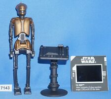 "Star Wars 1997 EV-9D9 & DATA PAD with Freeze Frame 3.75"" Figure"