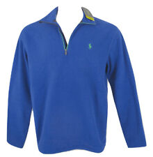 Polo Ralph Lauren Big&tall Size 2xb Men's Blue 1/2 Zip Pullover Fleece Jacket