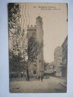 """CPA """"Avignon - Tour Saint Jean - Place Pie"""""""