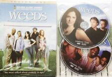 WEEDS Season 1, 2 Discs Plays on PAL 4 DVD Comedy Free AU Standard Post Like NEW
