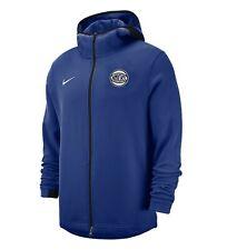 Nike NBA New York Knicks Dry Showtime Hoodie Rush Blue Large 940896-495