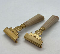 Lot Of 2 Vintage Schick Injector Single Edge Safety Razors Very Clean