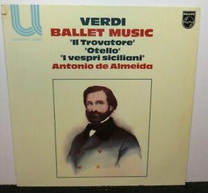 ANTONIO DE ALMEIDA VERDI BALLET MUSIC (NM) 6580264 LP VINYL RECORD