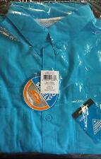 NEW COLUMBIA PFG Mens Tamiami 1X Short Sleeve Shirt Aqua Blue BIG XL Fishing NWT