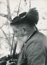 VIEUX TYROLIEN c. 1935 -  Tyrolien fumant la Pipe  Tyrol  Autriche - DIV 6498