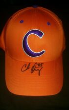 Chris Okey signed clemson tigers hat w/coa
