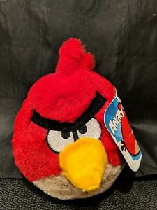 """Angry Birds RED Bird Plush without Sound 5"""""""