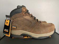 "Ariat Contender 6"" Steel Toe Work Boots Brown 10027338 Mens 11D"