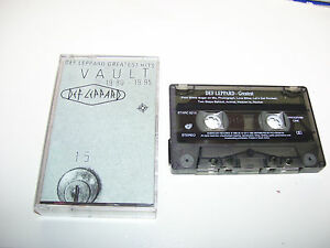 Def Leppard - Vault Greatest Hits 1980 - 1995 * CASSETTE / TAPE SOUTH AFRICA *