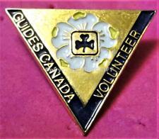 GIRL GUIDES VOLUNTEER BRITISH COLUMBIA CANADA Pin Mint