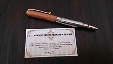 Bundy 308 NICKEL PLATED  Bullet Pen made from Bundaberg Vat  xmas  Christmas