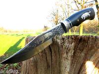 Jagdmesser Messer Knife Bowie Buschmesser Coltello Cuchillo Taschenmesser