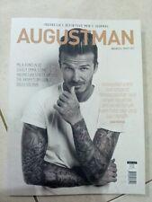 August Man Indonesia, March 2013, David Beckham, Milla Kunis, Emma Stone NEW