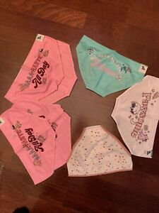 Size 12/14Justice Hipster/Bikini Breathable Underwear. Lot Of 7