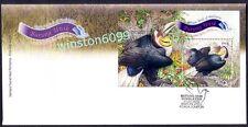 2009 Malaysia Unique Birds Miniature Sheet Stamp FDC (Kuala Lumpur Cancellation)