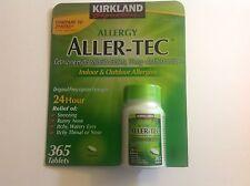 Kirkland 365 Tab.Aller-Tec Allergy Cetirizine HCL/ Antihistamine 10mg  Zyrtec