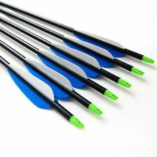 """12)30"""" GP Aluminum arrow, completed arrow 350 spine for compound bow up to 70lb"""