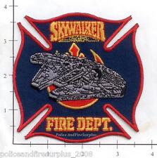 California - Skywalker Ranch CA Fire Rescue EMS Fire Dept Patch Star Wars v2