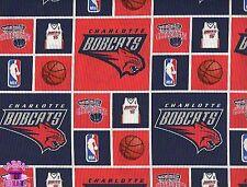 NBA Charlotte Bobcats Throwback Cotton Fabric Hornets Pelicans